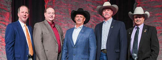 James was elected to the Board of Directors of the American Angus Association